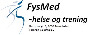 Fysmed-helse og trening logo 1